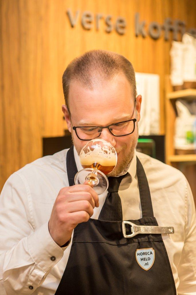 Bas Schampers, biersommelier