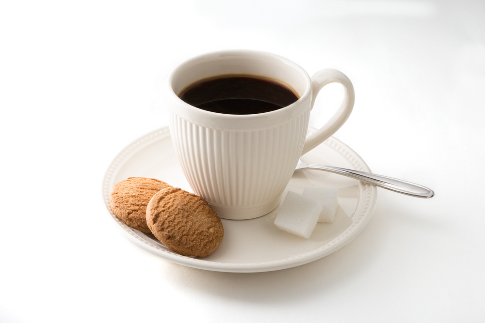 packshot kopje koffie